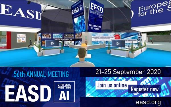 EASD 2020: The first virtual diabetes event with our partecipation